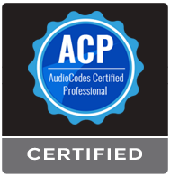 Siamo Certificati AudioCodes